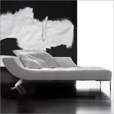 Erba Viceversa Chaise Longue Fabric Or Leather By G Soressi Sofa Furniture