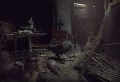 Ghosts in the Attic. Photo by Andre Govia. . ethan_kahn:https://www.flickr.com/photos/andregovia/11453789475/