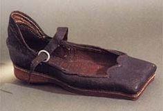 Henry VIII shoe, circa 1500