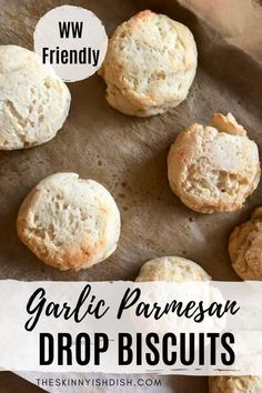 Easy Homemade Recipes, Ww Recipes, Skinnytaste Recipes, Healthy Recipes, Garlic Cheddar Biscuits, Drop Biscuits, Thing 1, Food Dishes, Side Dishes
