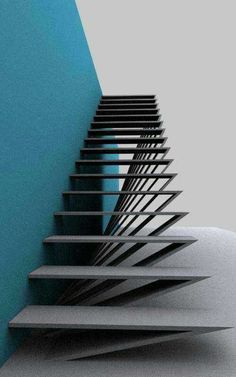 Staircase ideas - design and layout ideas to inspire your own staircase remodel . : Staircase ideas – design and layout ideas to inspire your own staircase remodel painted diy, decorating basement remodel pictures – moder staircase ideas Architecture Design, Stairs Architecture, Residential Architecture, Staircase Remodel, Staircase Ideas, Railing Ideas, Escalier Design, Stair Handrail, Railings