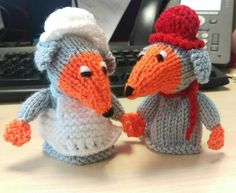 We love these womble Big Knit hats! Knitting Designs, Knitting Patterns Free, Knit Patterns, Free Knitting, Knitting Projects, Crochet Projects, Knit Hats, Crochet Hats, Bobble Hats