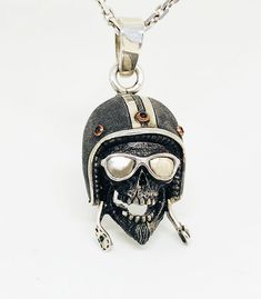 Biker style, Silver pendant for lovers of bike! Biker Style, Lovers, Jewels, Rock, Personalized Items, Silver, Handmade, Pendant, Unique Jewelry