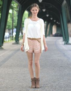 Chicwish Aztec Sequin Shorts http://rstyle.me/n/hvrxnyjnw