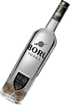 Boru Vodka From Iceland. Made from Grain.