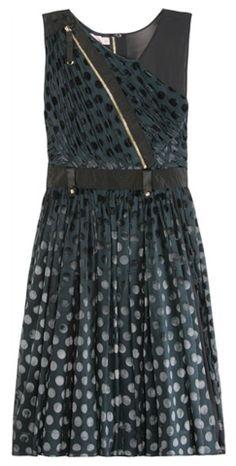 Panelled Mix Dress by LUELLA @girlmeetsdress  Pin to Win your dream dress from girlmeetsdress.com! #wingirlmeetsdress