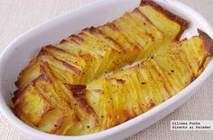 Potatoes mashed in the oven. potato al horno asadas fritas recetas diet diet plan diet recipes recipes Potato Recipes, Snack Recipes, Cooking Recipes, Healthy Recipes, Diet Recipes, Empanadas, Argentine Recipes, Everyday Dishes, Yummy Food