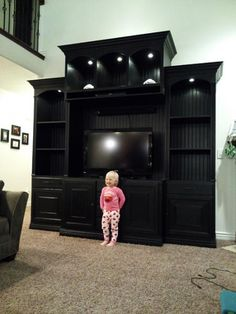 The Entertainment Center | Do It Yourself Home Projects from Ana White