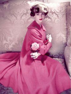 Norman Parkinson photograph for Vogue, 1951.