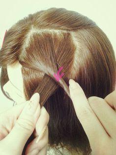 縄編み(ロープ、ツイスト)のやり方 | 0から始めるヘアセット