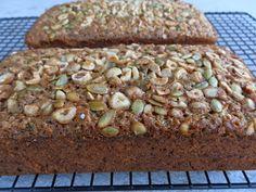Hazelnut Zucchini Bread