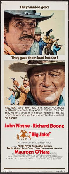 "Movie Posters:Western, Big Jake (National General, 1971). Insert (14"" X 36""). Western..... Image #1"