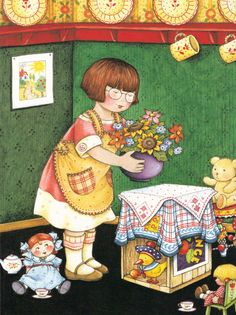 mary engelbreit pictures | Today revel in your own bubble of wholesome innocence!