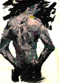 painting by KwangHo Shin, via Behance