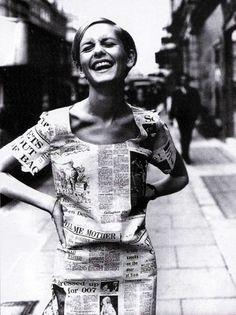 Twiggy, 30 June 1967.