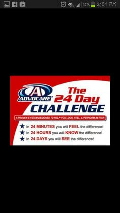 advocare.com/130311287  Let me know if you're interested... :)