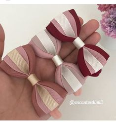 Preferential Hair Band Scrunchie Ponytail Holder Multi Color Hair Tie Rope Fashi Preferential Hair B Baby Hair Bows, Ribbon Hair Bows, Diy Ribbon, Ribbon Work, Ribbon Crafts, Diy Crafts, Making Hair Bows, Diy Bow, Silk Ribbon Embroidery