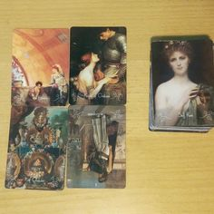 #tarot #tarotcards #tarotreadings $peinturesdumonde Welp if there was any doubt I can read with this deck it is gone now. I decided to just shuffle this printer's proof (can't wait til the new one gets here) and do a small reading to practice for tomorrows kick off. The cards called me out omg!