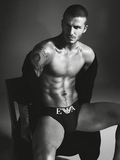 David Beckham....O....M....G... enough said