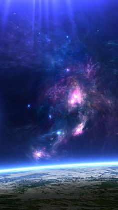 Space ★ Find more Galactic wallpapers for your #iPhone + #Android @prettywallpaper