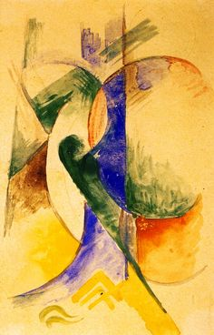 Abstract Composition Artwork By Franz Marc Oil Painting & Art Prints On Canvas For Sale Franz Marc, Kandinsky, Local Art Galleries, Composition, Oil Painting Reproductions, Vintage Artwork, Abstract Expressionism, Abstract Art, Teaching Art