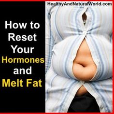 How to Reset Your Hormones (detox cleanse) and melt belly &/or butt fat through use of diet & hetbs.