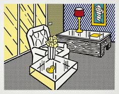 Roy Lichtenstein | The Den | From The Interior series | 1991 | Hamilton-Selway