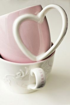 for the love of pink mugs