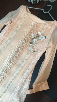 Asifa&Nabeel Frock Fashion, Fashion Outfits, Womens Fashion, Simple Dresses, Casual Dresses, Stylish Dresses, Pakistani Outfits, Indian Outfits, Blouse Designs