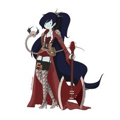 Steampunk Marceline.  Your argument was never valid in the first place.