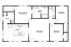 House Plan 1200 A The Korey A Floor Plan House In 2019