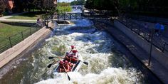 East Race Waterway - SB150 | South Bend Parks & Recreation - Official Website - artificial white water rafting! $5 per person per ride
