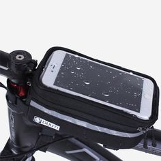 2016 Waterproof/Reflective Bicycle Cycling Bicycle Bike Bag Phone Case Cover bag Touchable PVC Screen 4.8 inch -5.7 inch #Affiliate