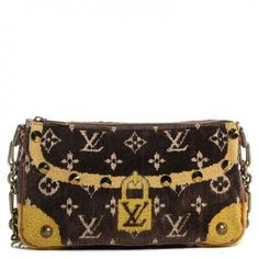 Louis Vuitton Trompe L'oeil Pochette Shoulder Bag. Get one of the hottest styles of the season! The Louis Vuitton Trompe L'oeil Pochette Shoulder Bag is a top 10 member favorite on Tradesy. Save on yours before they're sold out!
