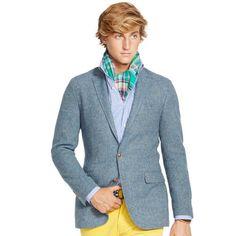Blrue coat