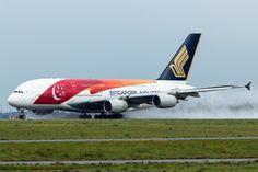 https://flic.kr/p/CDEHt4 | Airbus A380-841 Singapore Airlines 9V-SKJ (CDG)