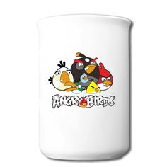 Colorful Angry Birds Bone Mug Top Rated-Animals & Nature  Accessories with 98% happy customers! Create custom shirts and personalized goods at HICustom,Use our online designer to add your design, logos, or text. easily!