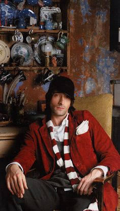 Usually not into skinny guys, but I have the biggest crush on Adrien Brody.especially in Darjeeling Limited! Beautiful Boys, Beautiful People, Male Fairy, Fire And Desire, Adrien Brody, New Groove, Skinny Guys, Thing 1, Movie Costumes