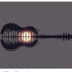 Image about guitar in art by Discovered by Alecsandra Ali. Find images and videos about guitar music and gif on We Heart It - the app to get lost in what you love. Guitar Art, Guitar Tattoo, Guitar Drawing, Music Guitar, Violin, Wow Art, Belle Photo, Amazing Art, Awesome