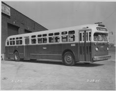 Philadelphia Transportation Company (PTC) Encyclopedia of Greater Philadelphia JAK NOTE:  Katherine Caine caught a bus like this one to go to work. No air-conditioning in those hot and humid Philadelphia summers.