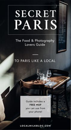 The Ultimate Paris, France Travel Guide: All the Must See Instagram, Travel Photography, Food, Cafes, Things to do, and Shopping Spot plus Travel Tips for the First Time Visitor! septime #travel #paris #france