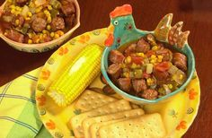 Conecuh Sausage Gumbo | Southern Regional Cuisine-U.S.A.