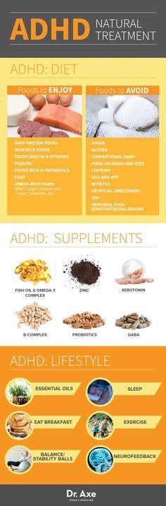 ADHD Natural Treatment http://www.draxe.com #health #natural #holistic