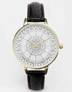 Reloj con zodíaco de ASOS
