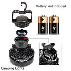 Camping Lights - impressive selection. Need to visit...