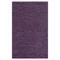 Pebbles Rug in Purple