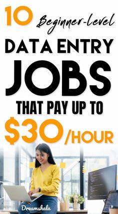 10 Best Data Entry Jobs For Everyone To Work At Home in 2019 - Finance tips, saving money, budgeting planner Ways To Earn Money, Earn Money From Home, Earn Money Online, Way To Make Money, Online Data Entry Jobs, Online Jobs, Online Work From Home, Work From Home Moms, Good Customer Service Skills