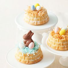 Easter Basket Cakes