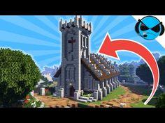 How To Build A Church Minecraft Tutorial ► Minecraft Medieval Village - Part 4 - Minecraft Building Blueprints, Minecraft House Plans, Minecraft Houses Survival, Minecraft Castle, Minecraft Bedroom, Minecraft Furniture, Minecraft Decorations, Minecraft Crafts, Minecraft Designs