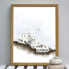 Santorini print santorini art print House portrait digital Boho Sandals, Greek Sandals, Bare Foot Sandals, Leather And Lace, Real Leather, Ancient Goddesses, Gifts For Your Girlfriend, Beach Shoes, Summer Shoes